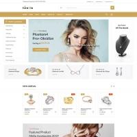 Bootstrap服装首饰电商网站模板html
