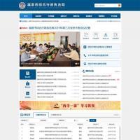 蓝色的政府机关事业单位官方网站通用模板